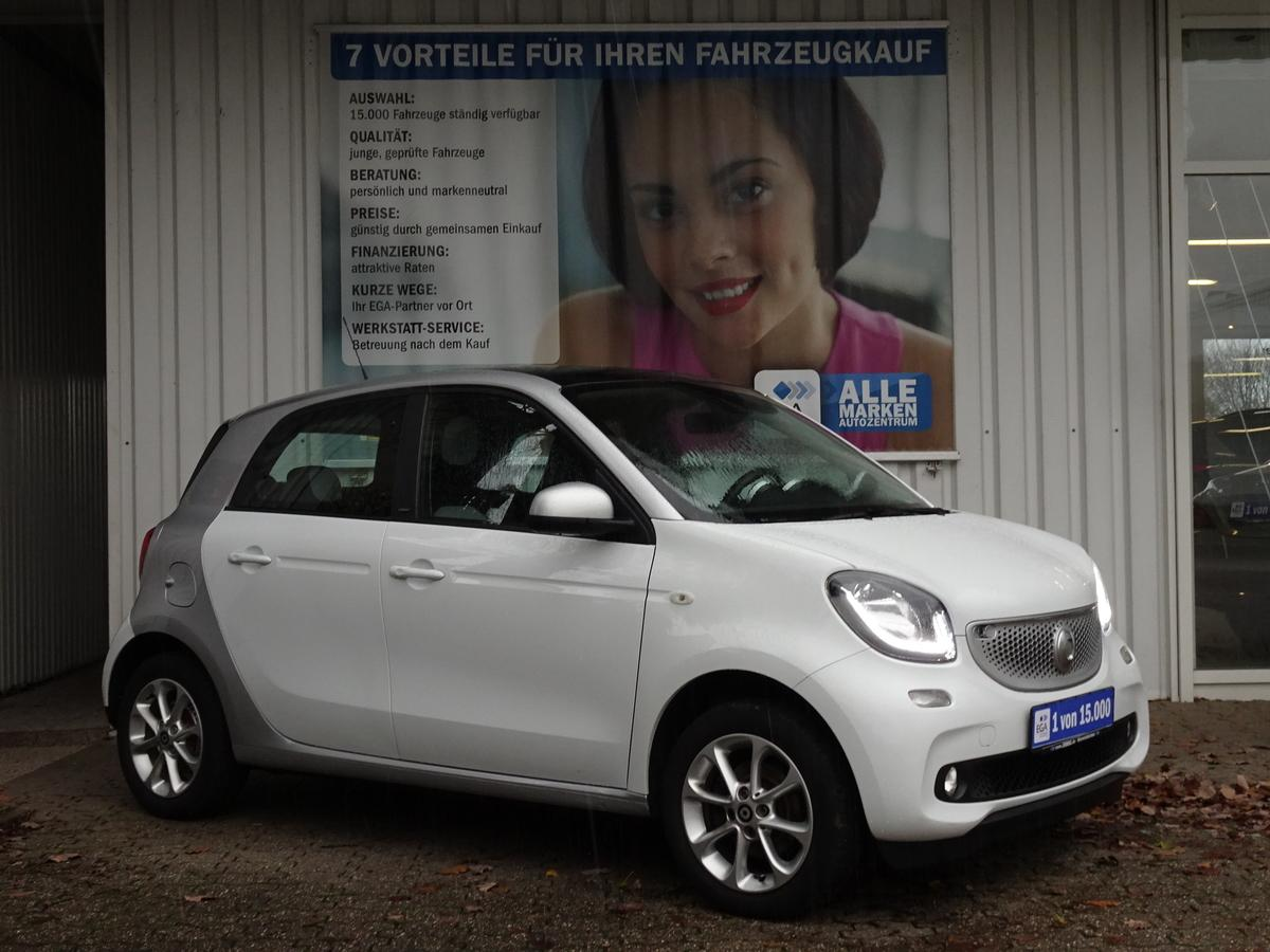 Smart ForFour PASSION/COOL & AUDIO/LED&SENSOR/PANORAMADACH/PDC/SHZ