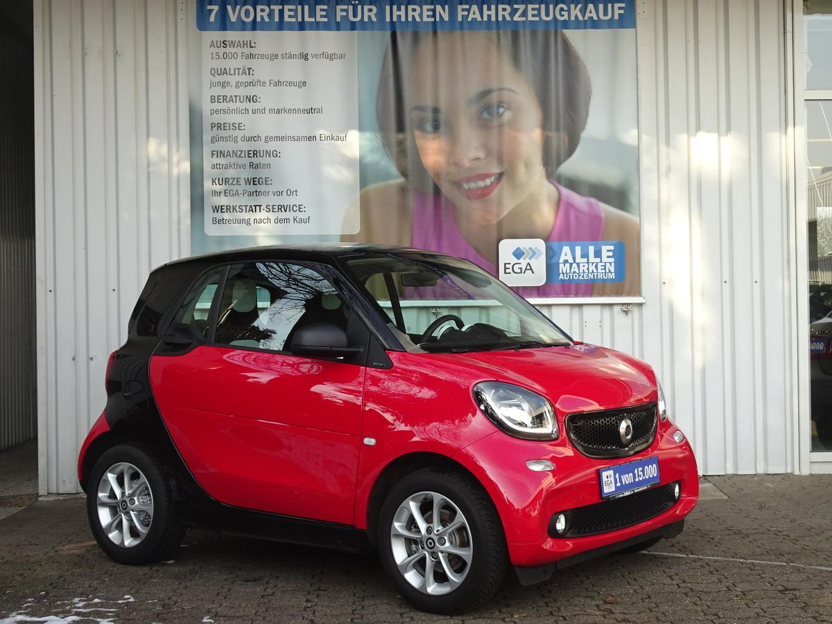 Smart ForTwo passion SITZH. COOL&AUDIO PANORAMA COMF.PAK ALU
